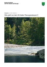 Wie geht es den St.Galler Fliessgewässern? - Umwelt und Energie ...