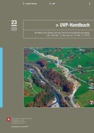 UVP-Handbuch. Richtlinie des Bundes für die ... - Umwelt und Energie