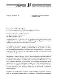 Amtliche Feuerungskontrolle - Umwelt und Energie - Kanton St.Gallen