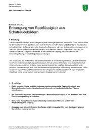 Entsorgung von Restflüssigkeit aus Schafräudebädern - Umwelt und ...