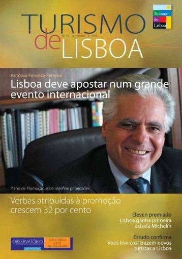 Lisboa deve apostar num grande evento internacional