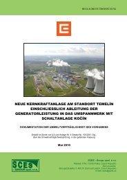 neue kernkraftanlage am standort temelín ... - Land Salzburg