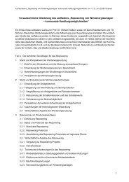 Gliederung Leitfadenentwurf (80 KB) - Die Kommunale Umwelt ...