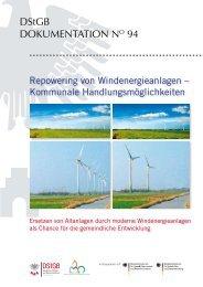 Repowering von Windenergieanlagen – Kommunale ...