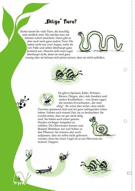 Tierwelten - Umweltbildung in der Offenen Ganztagsschule