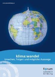 Download der gesamten Publikation als pdf - Forum Umweltbildung