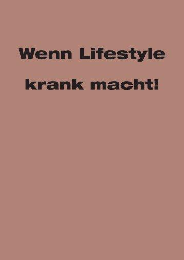 Endbericht: Wenn Lifestyle krank macht! - Forum Umweltbildung