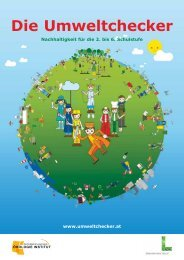 Die Umweltchecker - Österreichische Ökologie Institut