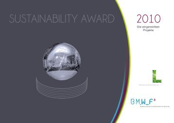 Sustainability_Award2010_de.pd - Bundesministerium für ...