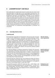 Landwirtschaft und Wald - Umweltbundesamt