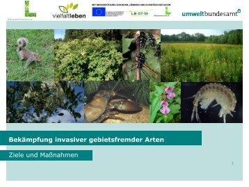 Bekämpfung gebietsfremder invasiver Arten - Wolfgang Rabitsch