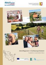 AktivRegionen in Schleswig-Holstein - Landwirtschaft und Umwelt