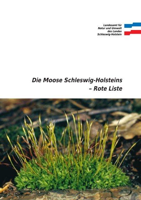 Rote Liste der Moose - Landesamt für Landwirtschaft, Umwelt und ...