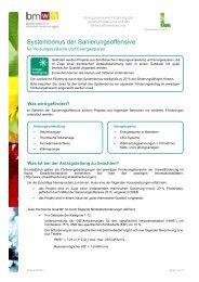 Systembonus der Sanierungsoffensive - Kommunalkredit Public ...