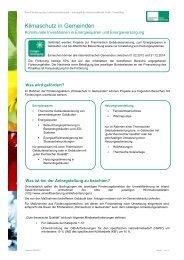 Infoblättern - Kommunalkredit Public Consulting