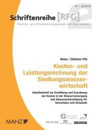 Schriftenreihe Kosten- und Leistungsrechnung - Kommunalkredit ...