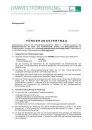 Mustervertrag für Finanzierungszuschüsse - Kommunalkredit Public ...