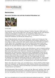Nachrichten - Umweltforum Rhein-Main