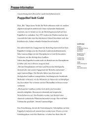 Pressemitteilung - Umweltforum Rhein-Main