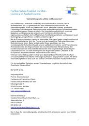 """Veranstaltungsreihe """"Klima und Ressourcen"""" - Umweltforum Rhein ..."""