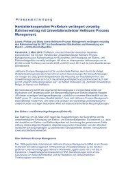 Diese Pressemitteilung herunterladen (PDF) - Hellmann Process ...
