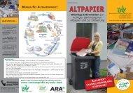 ALTPAPIER - Umweltprofis
