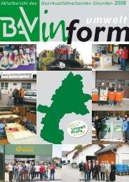 Behandlung im Bezirk Gmunden seit 1990 - Umweltprofis