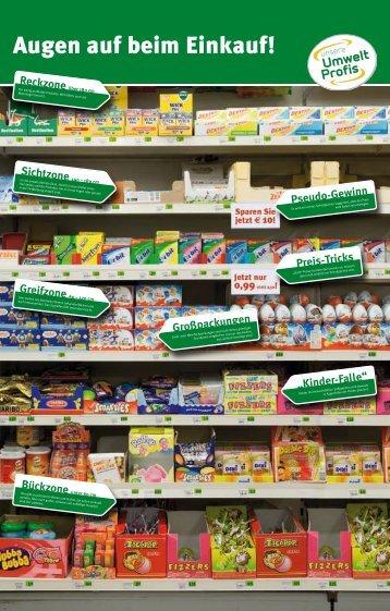 Augen auf beim Einkauf! - Umweltprofis