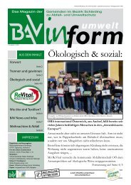 Ökologisch & sozial: - Umweltprofis