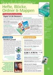 Hefte, Blöcke, Ordner & Mappen - Clever einkaufen für die Schule