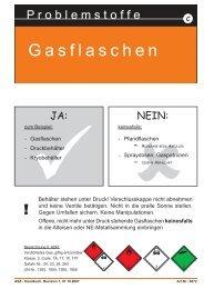 Gasflaschen Gasflaschen Gasflaschen - Umweltprofis
