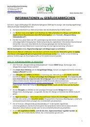 Gesamte Abbruchinformationen und Meldeformular ... - Umweltprofis
