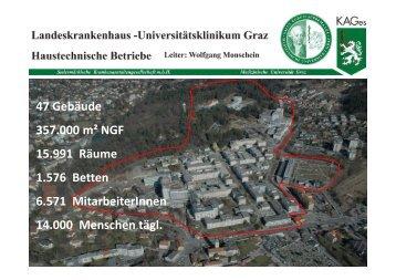 Präsentation von Wolfgang Monschein