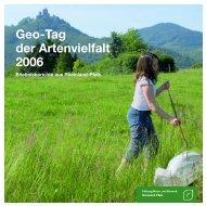 Tag der Artenvielfalt 2006 - Stiftung Natur und Umwelt Rheinland-Pfalz