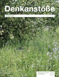 Biodiversität - Stiftung Natur und Umwelt Rheinland-Pfalz