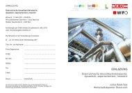 Einladung und Anmeldung - Wirtschaftskammer Österreich