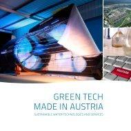GREEN TECH MADE IN AUSTRIA - umwelttechnik.at