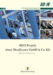 BEST-Projekt alutec Metallwaren GmbH & Co. KG