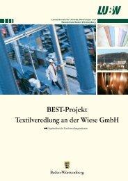 BEST-Projekt Textilveredlung an der Wiese GmbH - LuBW - Baden ...