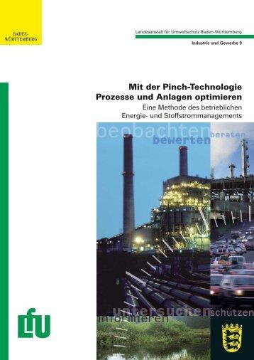 Mit der Pinch-Technologie Prozesse und Anlagen optimieren: Eine ...