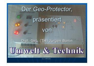 Der Geo-Protector - Umweltundtechnik.de