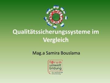 Details zu den Kriterien der Bildung für nachhaltige Entwicklung