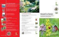 Umwelt im Garten - Das Österreichische Umweltzeichen