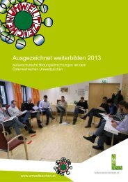 Ausgezeichnet weiterbilden 2013 - Das Österreichische ...
