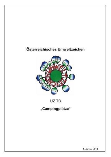 Campingplätze - Das Österreichische Umweltzeichen
