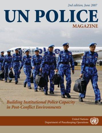 un police magazine