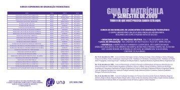 GUIA DE MATRÍCULA - Una