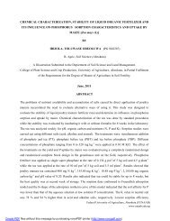 chemical characterization, stability of liquid organic fertilizer and its ...