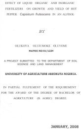 EFFECT OF LIQUID ORGANIC AND INORGANIC FERTILIZERS ON ...