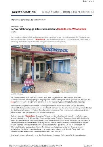aerzteblatt.de - Unabhängig im Alter